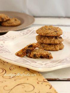 Paleo Chocolate Chip Coconut Cashew Cookies
