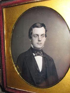 ANTIQUE AMERICAN DAGUERREOTYPE HANDSOME CUTE YOUNG MAN GENT MUSEUM QUALITY PHOTO   Collectibles, Photographic Images, Vintage & Antique (Pre-1940)   eBay!