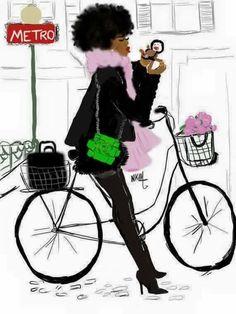 Fashionable cycling