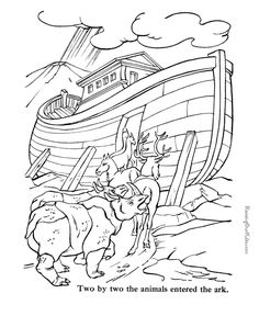 Lot's wife Turned Into A Pillar Of Salt Coloring Pages