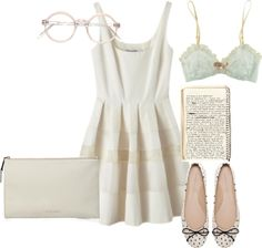 """""""inspired outfit for a meeting in summer"""" by hayleycarbran ❤ liked on Polyvore"""
