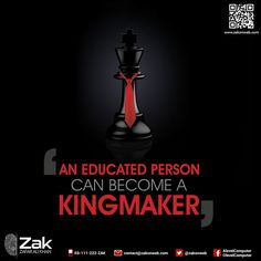 Students, education helps a person to be at the top of the pinnacle. The knowledge and wisdom derived from education, will help you in establishing yourself at a respectable and dominant position at any organization or business.  ‪#‎Olevel‬ ‪#‎Alevel‬ ‪#‎ComputerScience‬ ‪#‎CIE‬ ‪#‎ZakOnWeb‬ ‪#‎Google‬