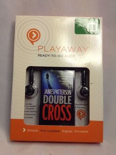 New Double Cross by James Patterson - PLAYAWAY, Ready-To-Go, AUDIO BOOK