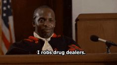 Omar shocks the court with his testimony in this classic scene. Click through to watch.  See more at http://thewirequotes.com