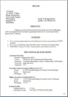 Professional Resume Format For Experienced Free Download Academic Curriculum Vitae Sample Free Download Excellent Cv Format .