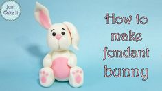 In this tutorial I'm showing how to make fondant rabbit figurine for a cake. Subscribe: https://www.youtube.com/channel/UCKE0d2rJY2YyivIyqG6Ctrw?sub_confirma...