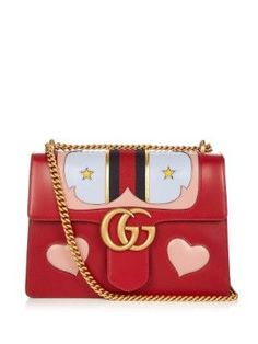 GG Marmont leather shoulder bag by Gucci