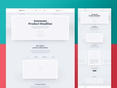 SoftHouse – Hi-Fidelity Wireframe – Product Page by Ben Schade