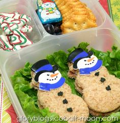 Snowman Bento Lunch
