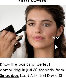 How to contour with the SmashBox Contouring kit  I love this kit and bought it recently from Sephora