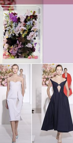 insanely gorgeous | floral arrangements at the jil sander fall 2012 show by florist Mark Colle