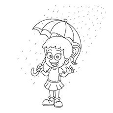 Top 10 Free Printable Rain Coloring Pages Online Coloring Pages