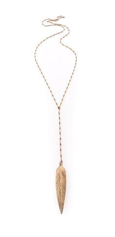 Long Gold Lariat Necklace. Long Goldfill Delicate by ZOZidesign