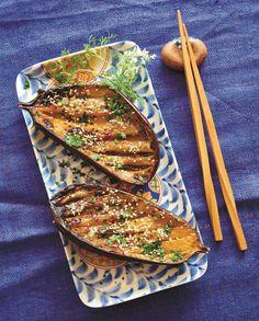 Aubergines dengaku pour 4 personnes - Recettes Elle à Table