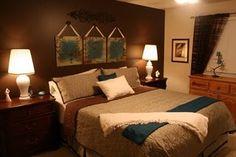 27 Best teal & brown bedroom images | Teal brown bedrooms ...