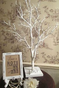 Wedding Wish Tree Sign Mr Mrs White Wooden Vintage Frame Please Leave Your Wishes For The New And We Ll Plant These Seeds Watch Love