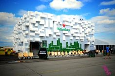 Opener Festival 2014 in Poland, open your city zone - Heineken City - design and production Horeca Group | Horeca Events