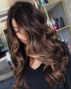 60 Chocolate Brown Hair Color Ideas For Brunettes Hair colors 2019 medium long . - Ombre Hair Color - Water - 60 Chocolate Brown Hair Color Ideas For Brunettes Hair colors 2019 medium … – Ombre Hair Color - Brown Hair Balayage, Brown Blonde Hair, Light Brown Hair, Hair Color Balayage, Dark Ombre Hair, Golden Dark Brown Hair, Black To Brown Ombre Hair, Brunette Blonde Highlights, Dark Fall Hair