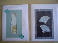 Oriental greeting cards by Diana Gaisser