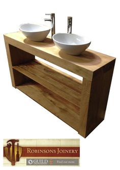 rustic oak bathroom furniture. Vanity Unit Wash Stand Sink Basin Flush Ends Solid Oak Bespoke Rustic  Finish In Handmade Bathroom Washstand Furniture
