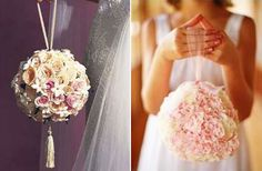 Alternativas a los ramos de novia tradicionales. Ramo bolso