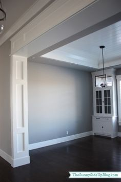Sunny Side Up: Formal Dining Room (molding)
