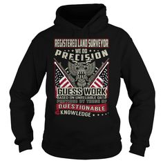 Registered Land Surveyor Job Title T-Shirts, Hoodies. Check Price Now ==► https://www.sunfrog.com/Jobs/Registered-Land-Surveyor-Job-Title-T-Shirt-103786706-Black-Hoodie.html?id=41382