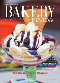 Bakery Review (Feb-Mar 16)  Here we have covered the cool ice-cream market of India, which is brimming with hot   potential. Besides the emerging trends in the Indian ice-cream market, Cover Story has explored the interesting history of ice-cream and also talked about a new development that can make ice-creams more resistant to melting. Business Story points out some of the points worth pondering for starting or operating a bakery business, in the Indian bakery industry. The interaction…