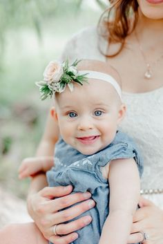 mommy and me photo shoot with floral crown sophisticated floral Mommy Daughter Pictures, Little Girl Pictures, Family Pictures, Baby Pictures, Family Photography Props, Mother Daughter Photography, Newborn Photography, Photography Ideas, Mom And Me Photos
