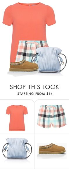 """""""Untitled #22856"""" by nanette-253 ❤ liked on Polyvore featuring Dorothy Perkins, Loewe and UGG Australia"""
