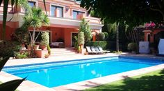 Big family villa for sale on the Golden MIle, Marbella price 2.500.000€ Also available for short term rentals: low season 4.000€ per week, high season 6.000€ per week