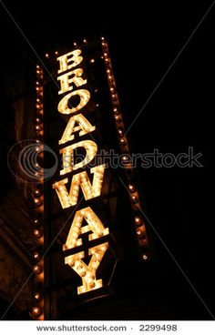 See a show on Broadway.