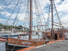 24 hours in Oslo, Norway -- wooden ship