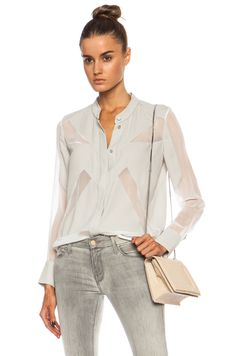 IRO|Bolly Poly Blouse in Beige