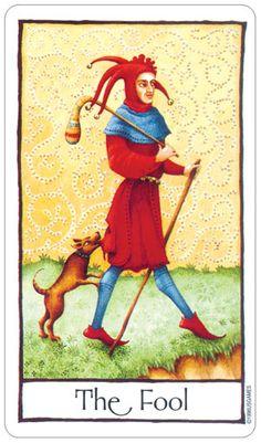 The Fool ~ Old English Tarot