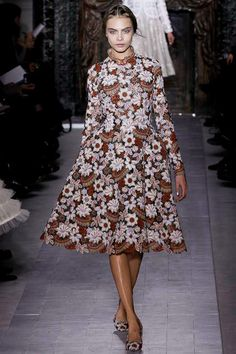 Valentino - beautiful! More flowers in fashion