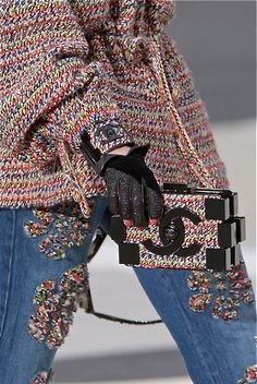 Chanel Fall 2013 When did Chanel get soo cool???