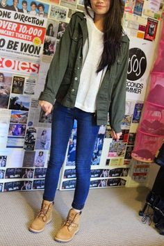 Find and save ideas about Cute Outfits, Street Style on Style Outfits, Mode Outfits, Casual Outfits, Fashion Outfits, Tims Outfits, Tumblr Fall Outfits, Hipster Outfits For Teens, Style Clothes, Hijab Fashion
