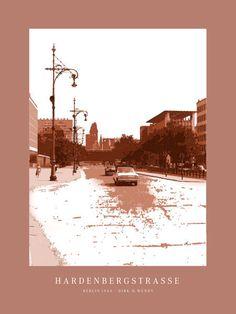 'Berlin Hardenbergstraße' von Dirk h. Wendt bei artflakes.com als Poster oder Kunstdruck $19.41