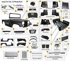Interactive Diagram - Jeep CJ7 T150 Transmission Parts ...
