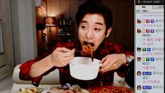 The Koreans who televise themselves eating dinner
