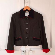 Wool Jacket / Giaca Lana MOSCHINO COUTURE | Ropa, calzado y complementos, Ropa de mujer, Abrigos y chaquetas | eBay!