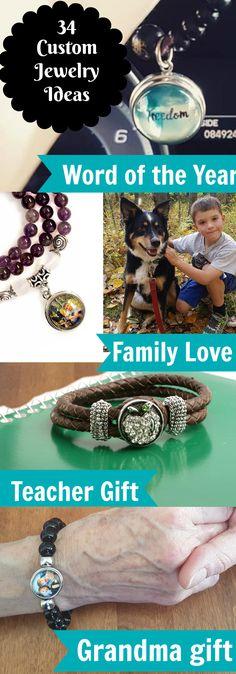 Photo Jewelry | Personalize your Jewelry | Custom Jewelry Ideas | Achieve Goals
