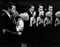 Orson Welles and Rita Hayworth - THE LADY FROM SHANGHAI