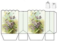 Vintage violets gift bag by JB