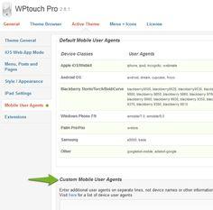 Configuración de W3 Total Cache compatible con WPTouch Pro [...]