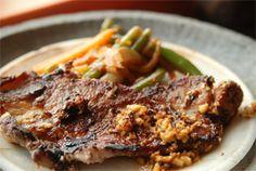 Pork Steak with Dionysios' Wild Herbs - Épices de Cru