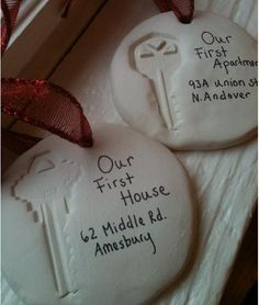 Our first house / apartment ornament. I'm doing this!