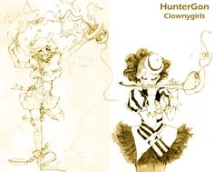 http://huntergon.deviantart.com/art/clowns-124483813
