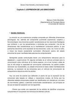 PRÁCTICAS DE MOTIVACIÓN Y EMOCIÓN Mariano Chóliz ...